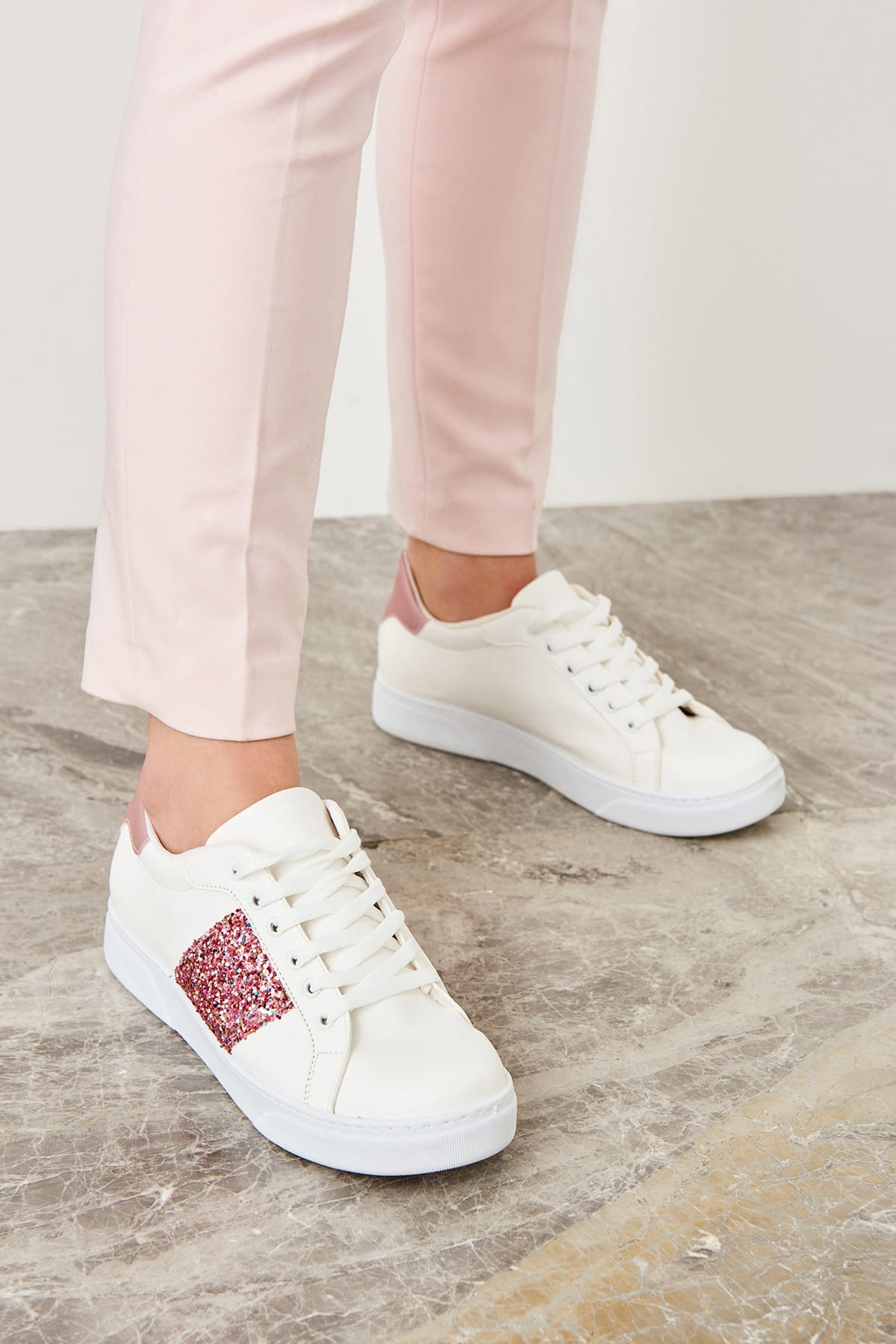 Trendyol Pink Women's Sneaker