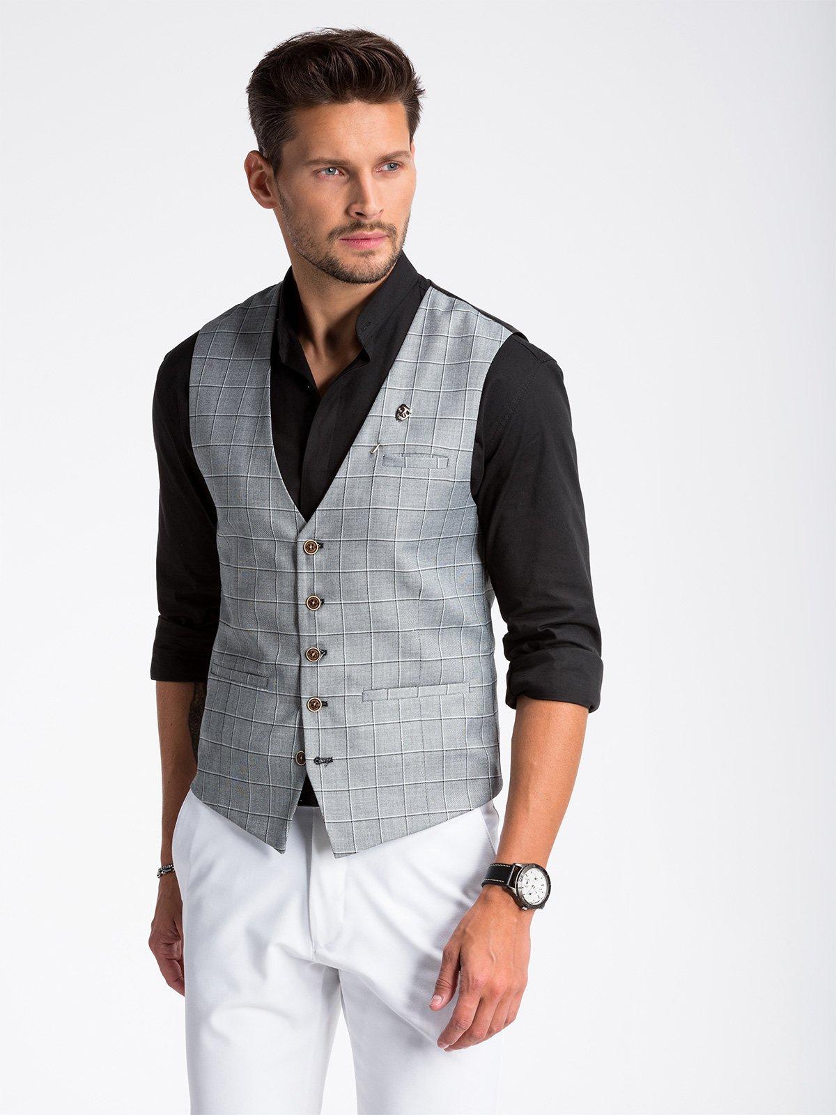 Ombre Clothing Men's Vest V48