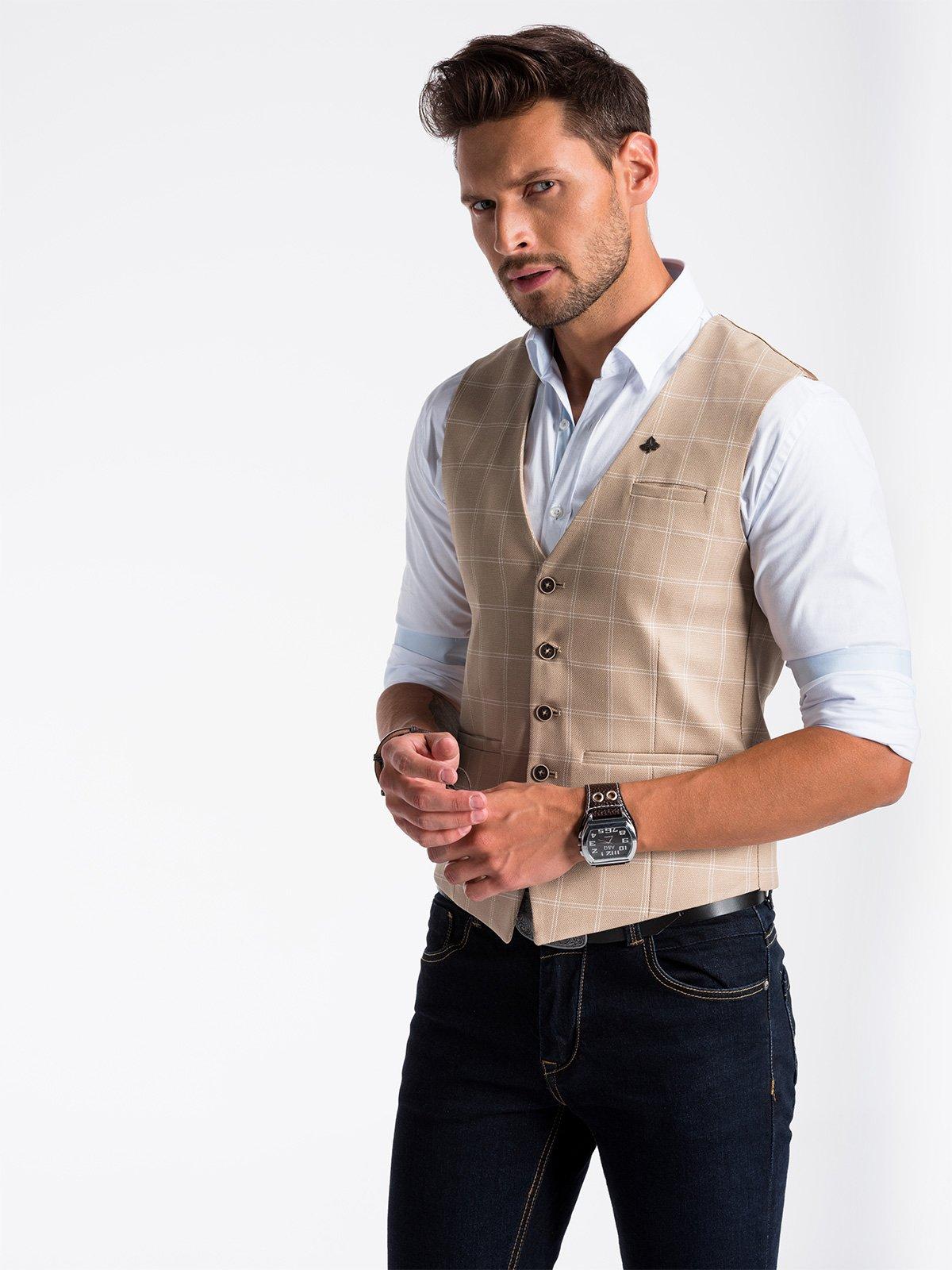 Ombre Clothing Men's vest  V50