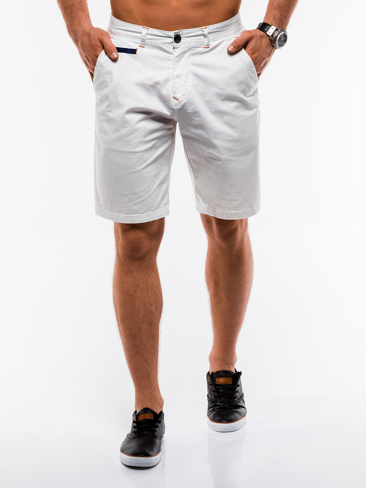 Ombre Clothing Men's chino shorts W194