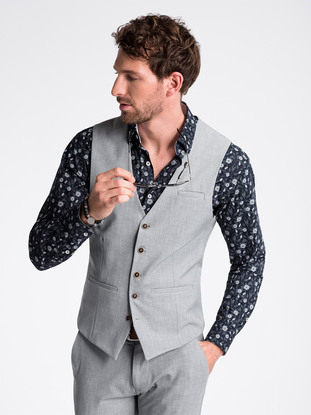 Ombre Clothing Men's vest  V47