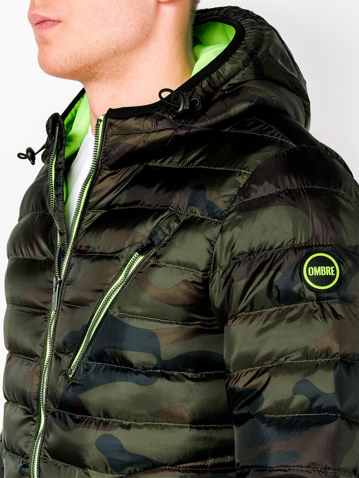 Ombre Clothing pánska zimná bunda C377