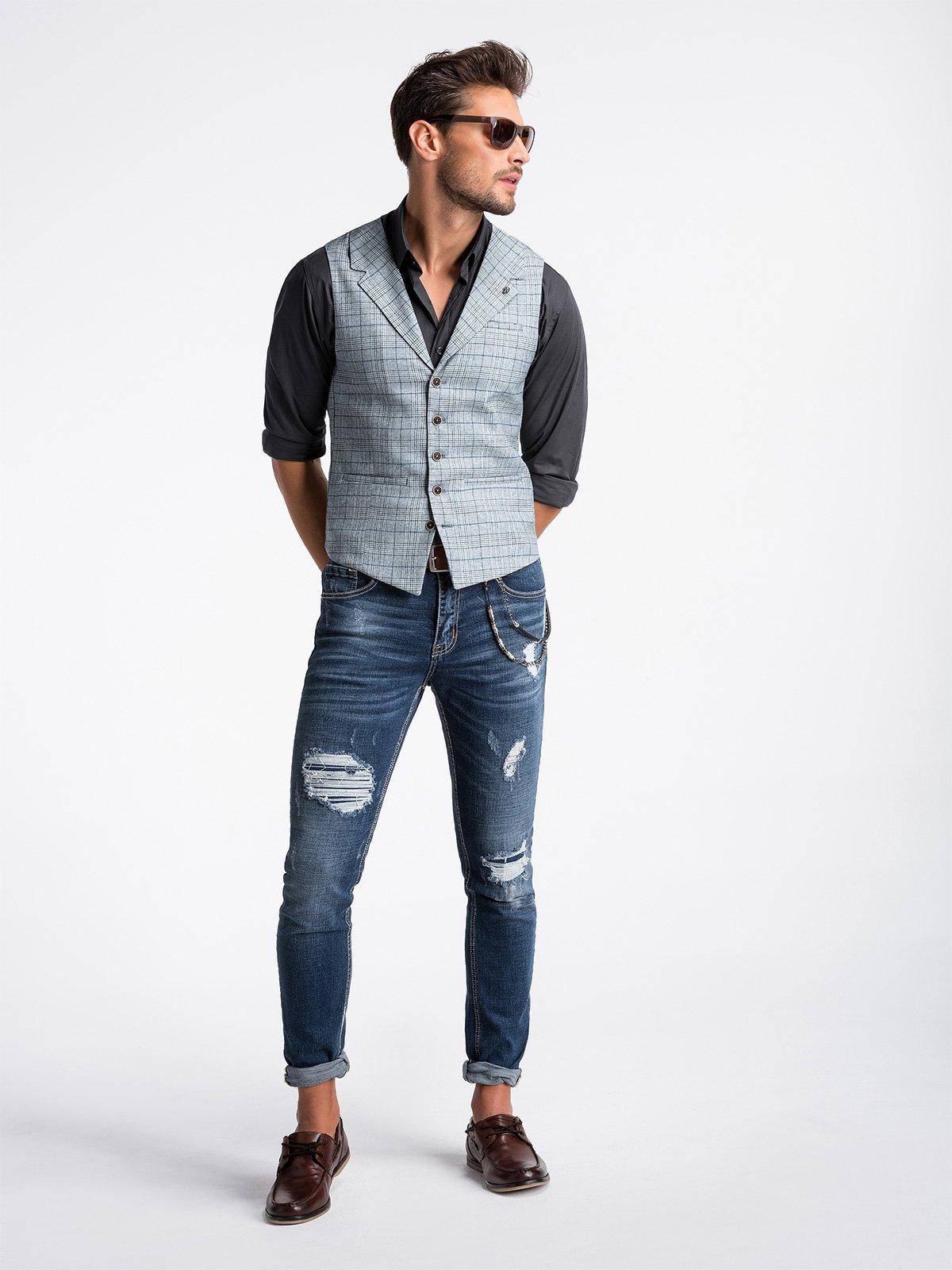 Ombre Clothing Men's vest  V51
