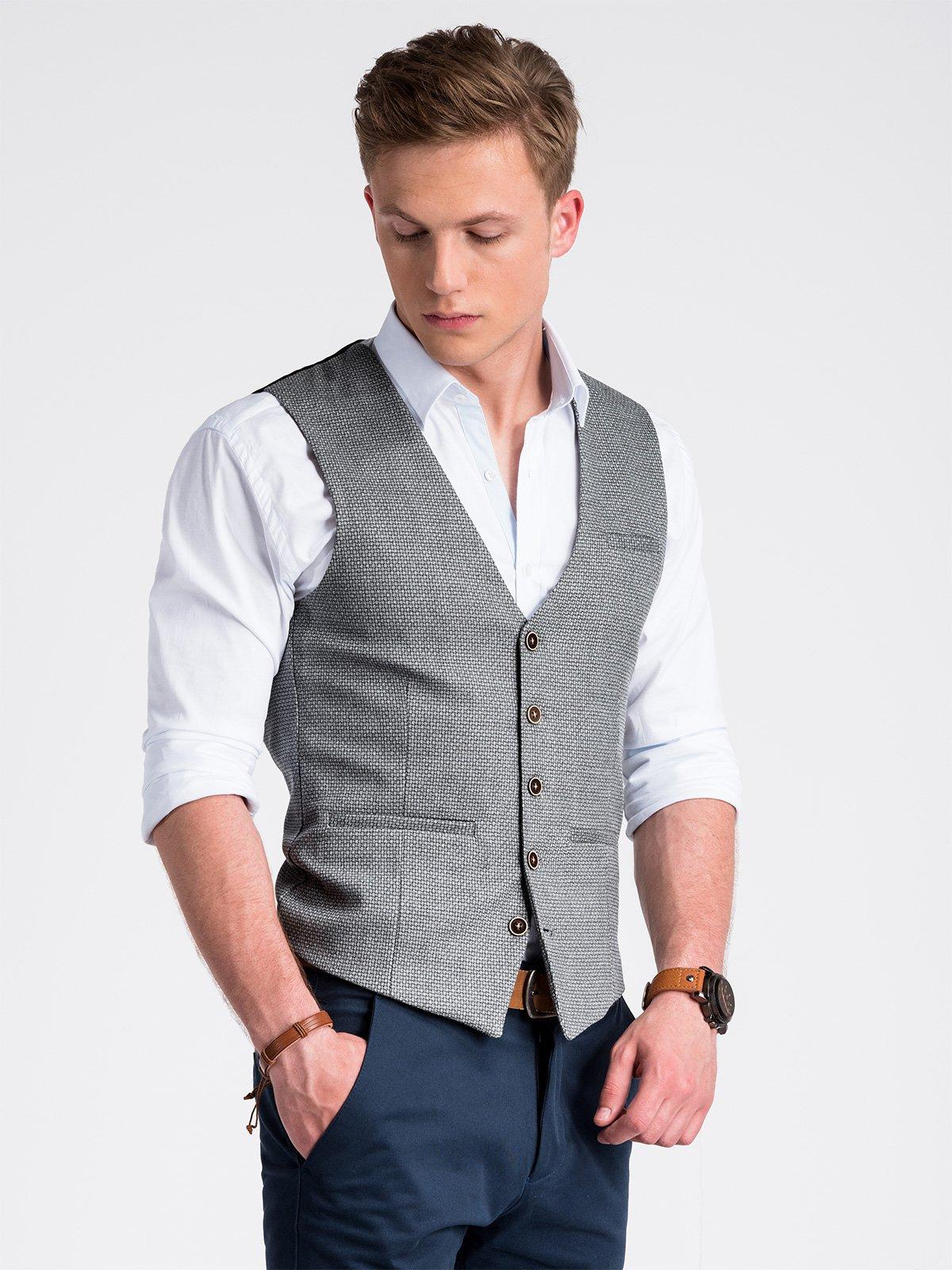 Ombre Clothing Men's vest  V52