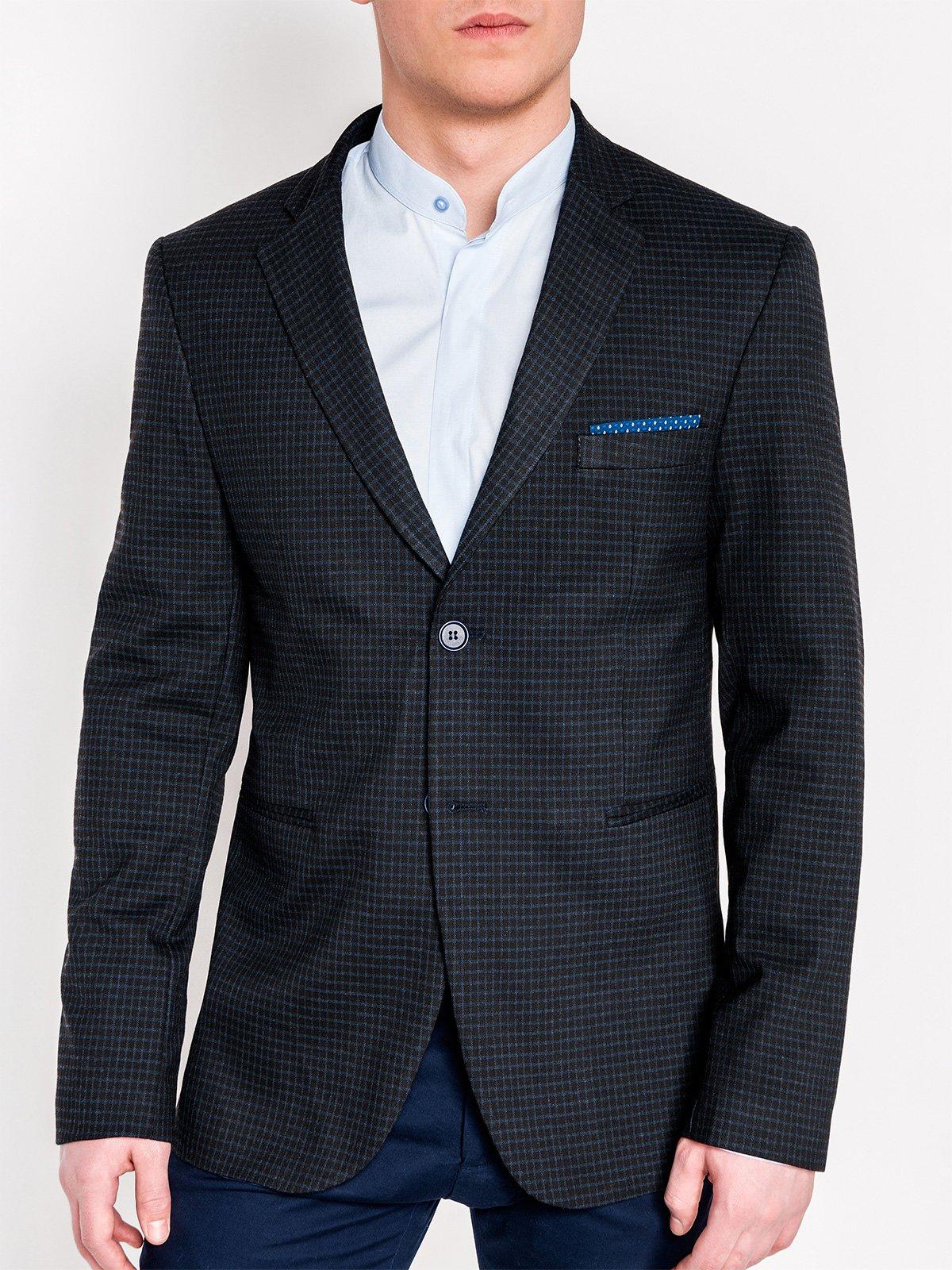 Ombre Clothing Men's elegant blazer jacket M108