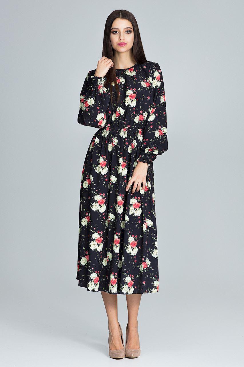 Figl dámske šaty M600 Pattern 75