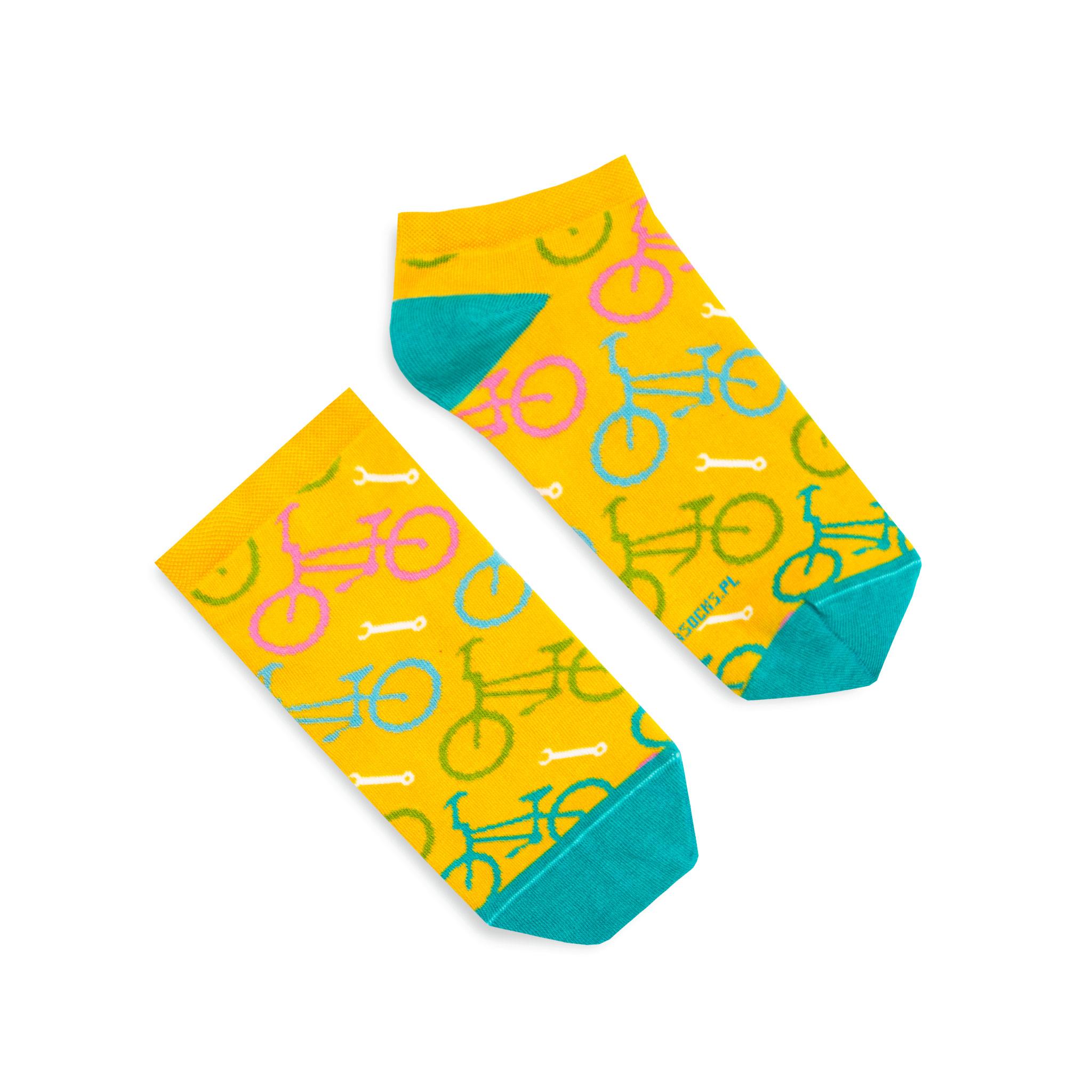 Banana Socks Unisex's Socks Short Bicycles