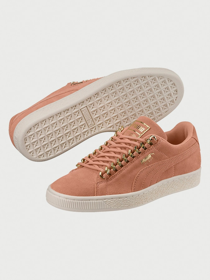 Shoes Puma Suede Classic x Chain Wn with