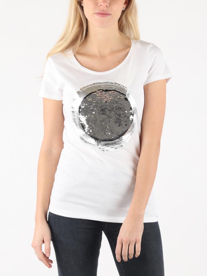 The GAS Halis Circle Sequins T-shirt