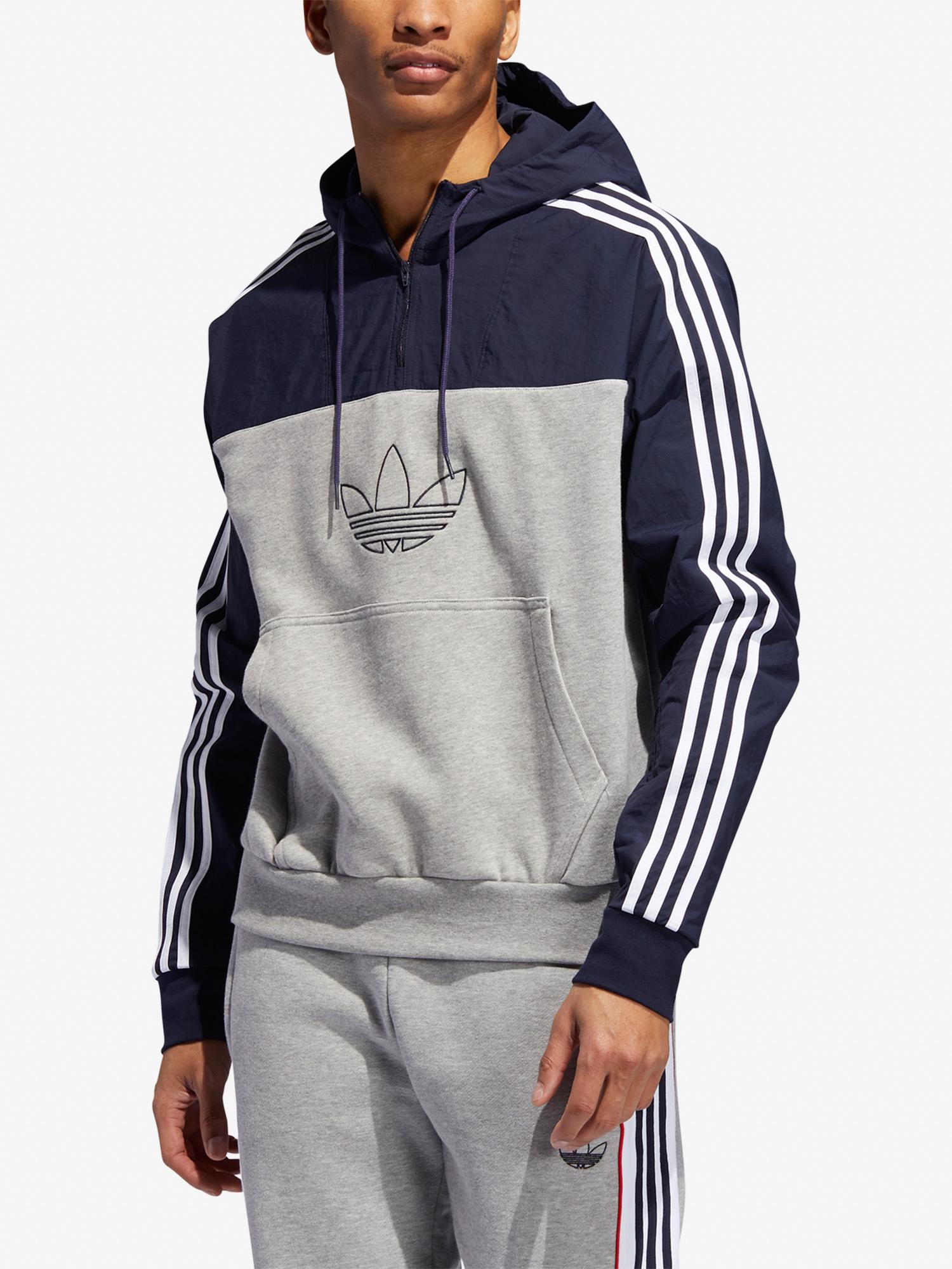 Adidas Originals Mixed Hoody Sweatshirt