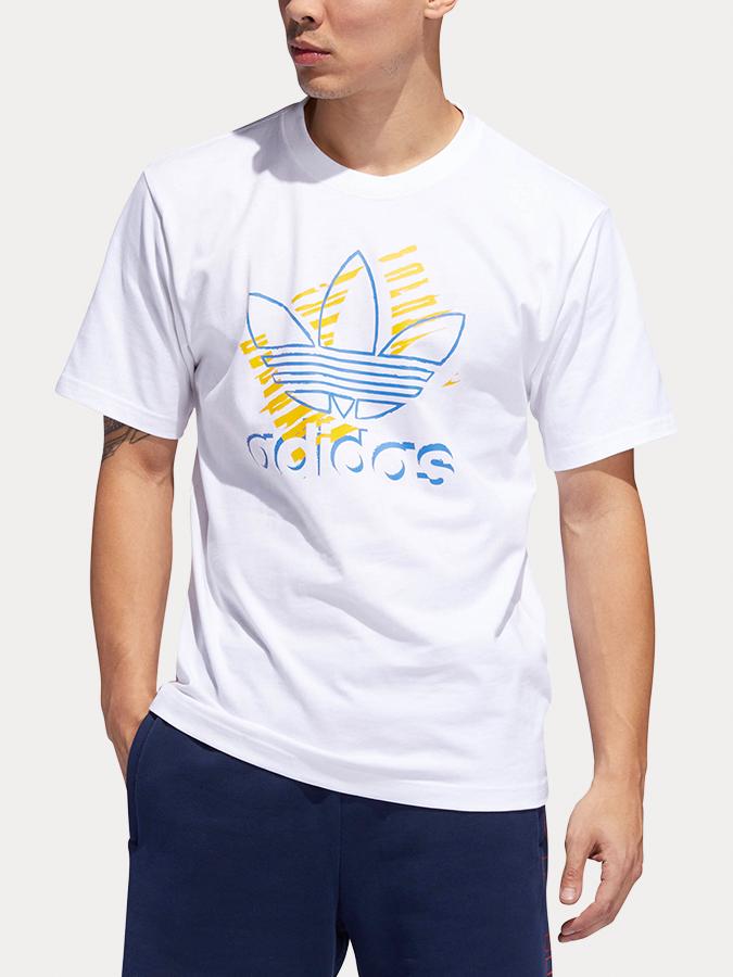 T-shirt Adidas Originals Trefoil Art Tee