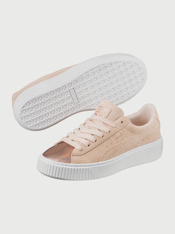 Shoes Puma Suede Platform LunaLux Wn s
