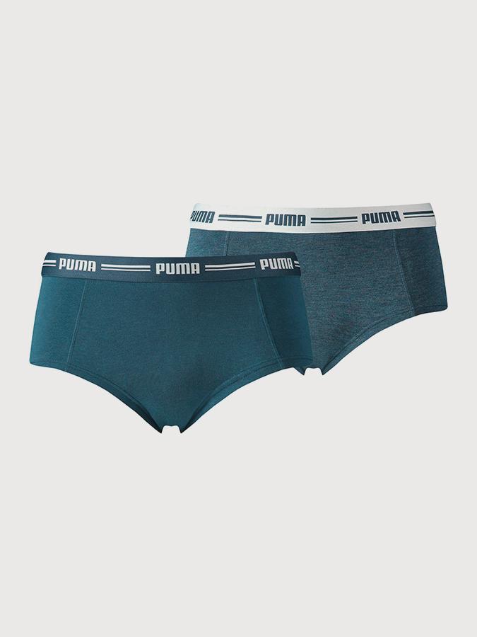 Kalhotky Puma Iconic Mini Short 2 Pack Dark