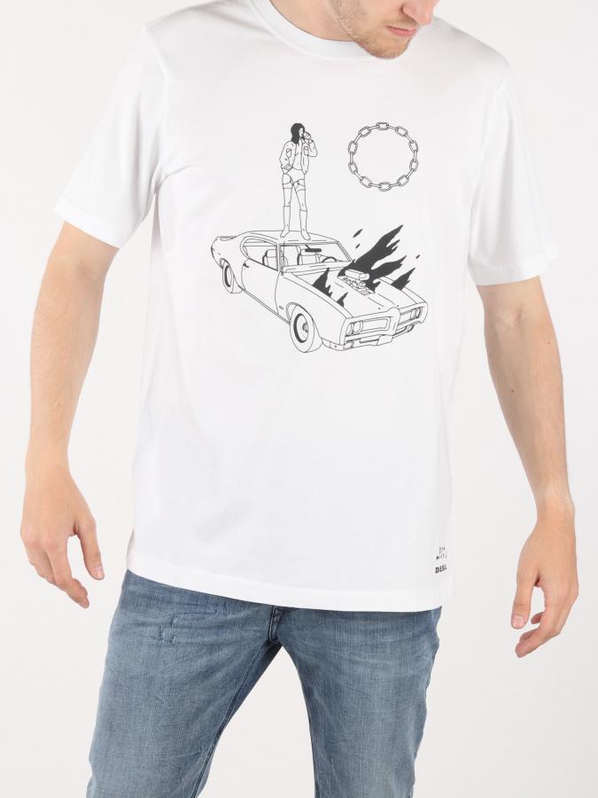 Tshirt Diesel T-Just-Sj Maglietta