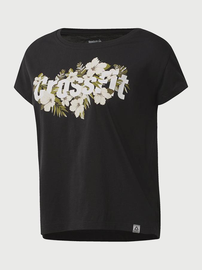 Reebok Cf Floral Read Easy Tee T-shirt