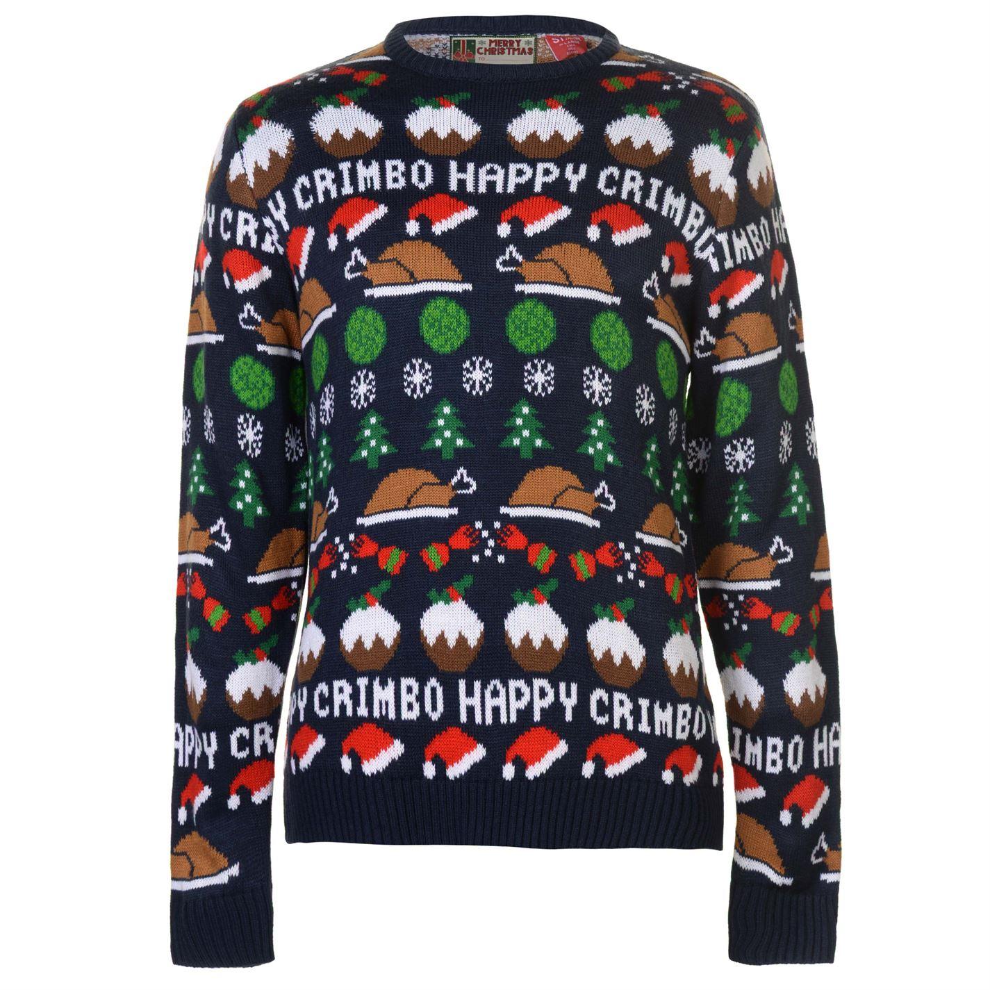 Star Christmas Knit Jumper Mens
