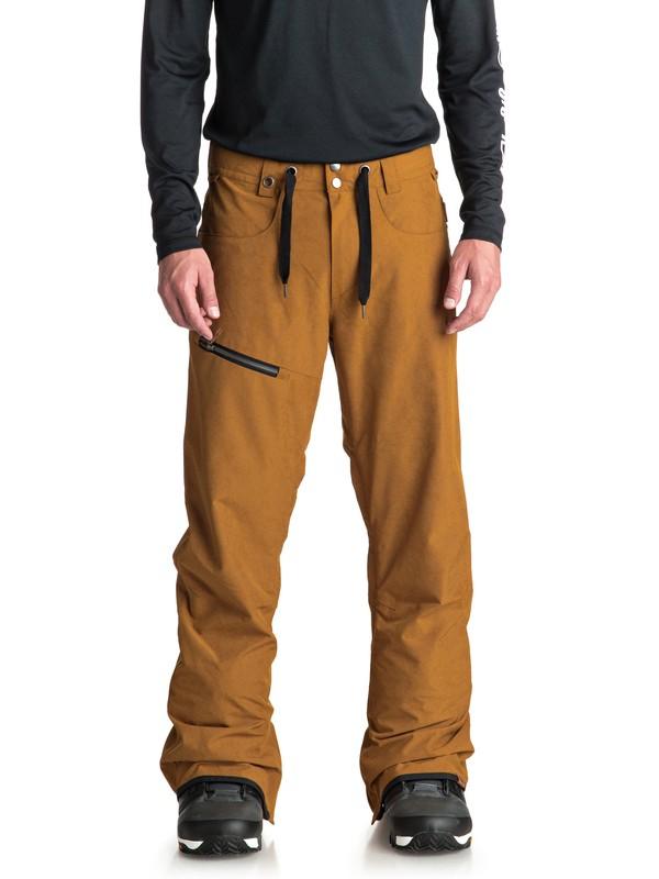 Men's winter pants QUIKSILVER FOREST OAK