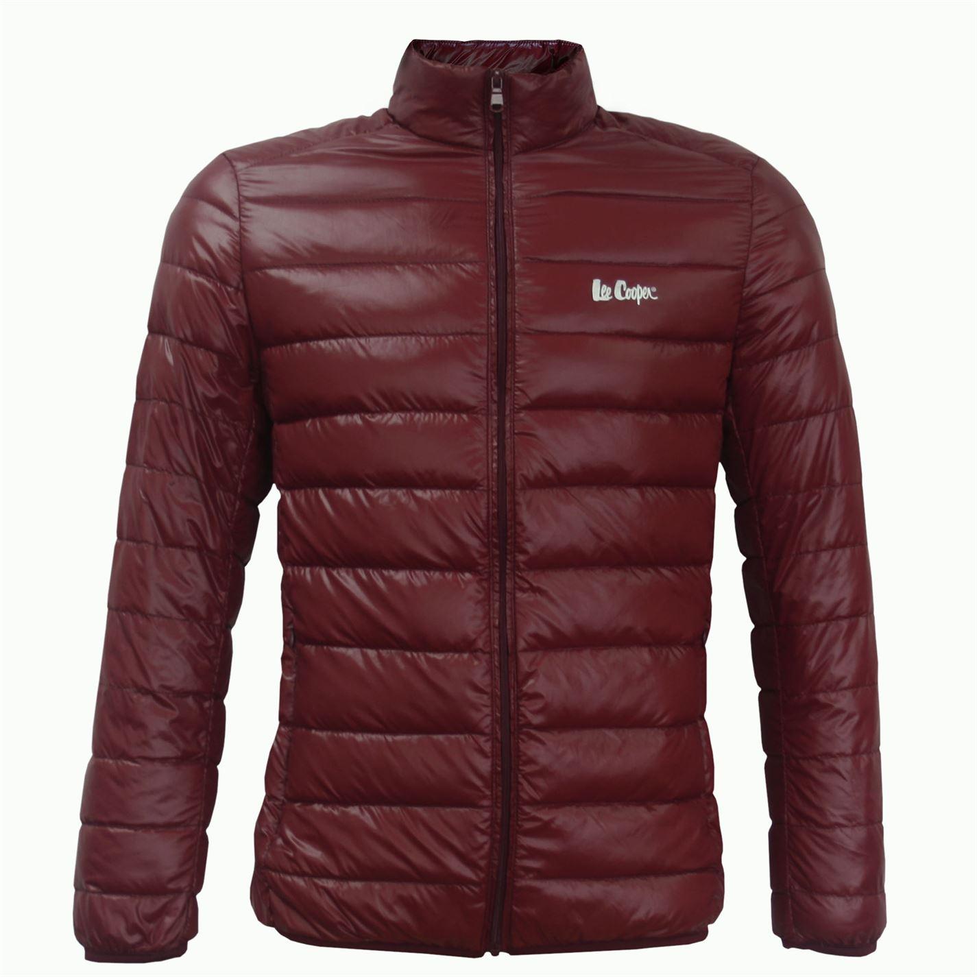 Lee Cooper Ultra Light Down Jacket pánske