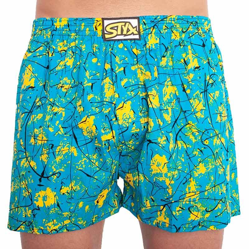 Men's shorts Styx art classic rubber oversize Jáchym (E851)