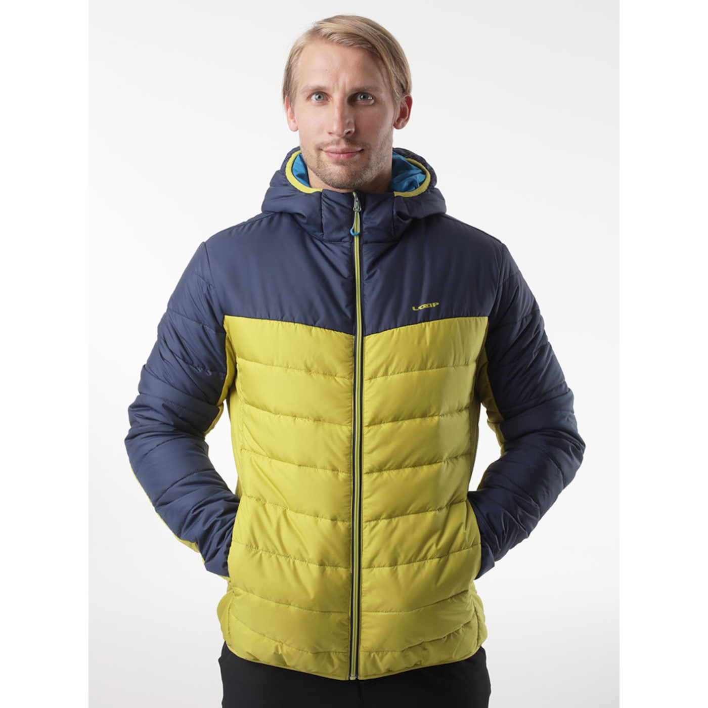 IRIS men's winter jacket for the city green