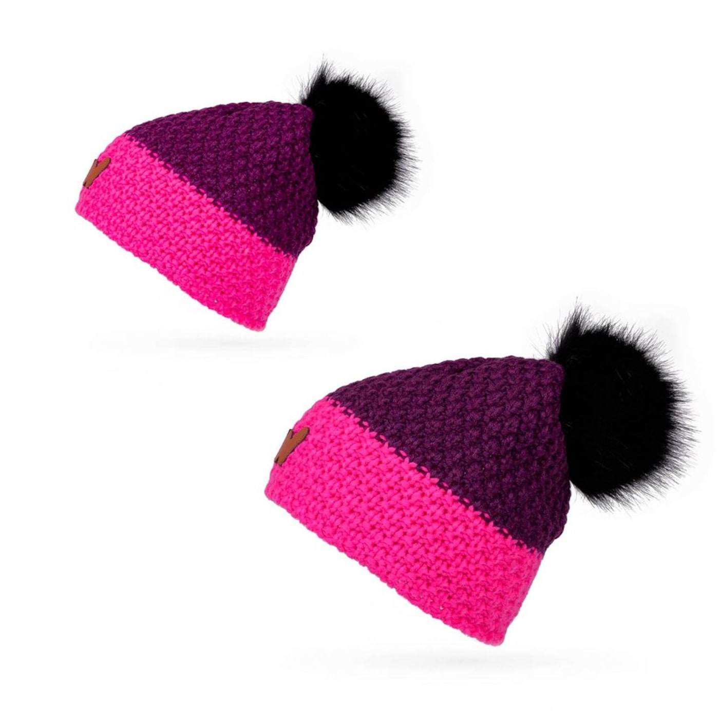 Pair of hats for mom and daughter Vuch Mummy set Violet