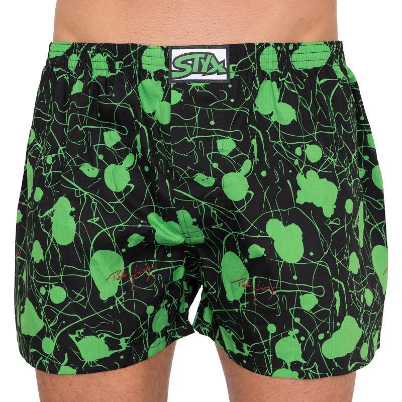 Men's shorts Styx art classic rubber oversize Jáchym (E759)