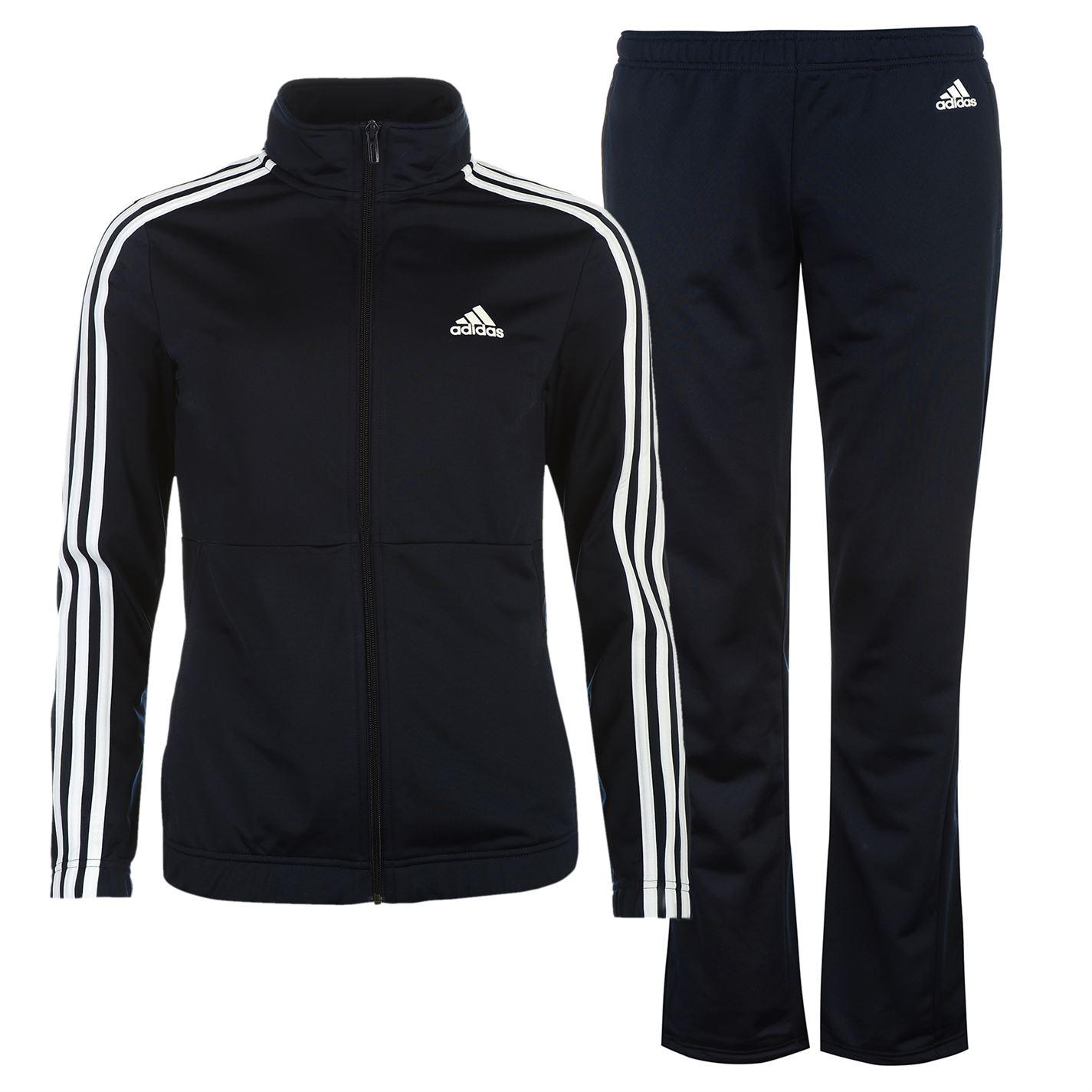 adidas Back 2 Basics 3 Stripes Tracksuit Ladies