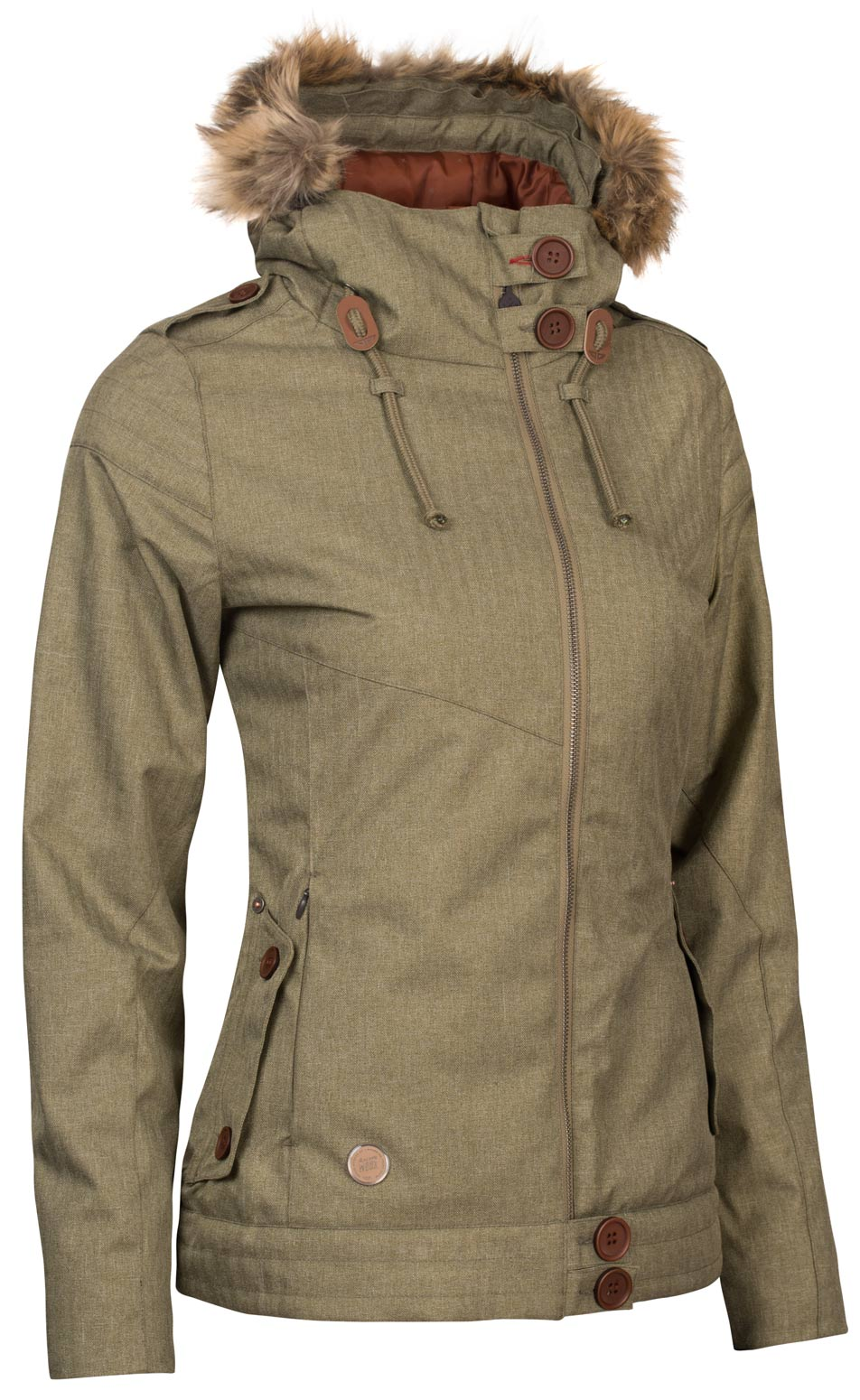 Women's winter jacket WOOX Pinna