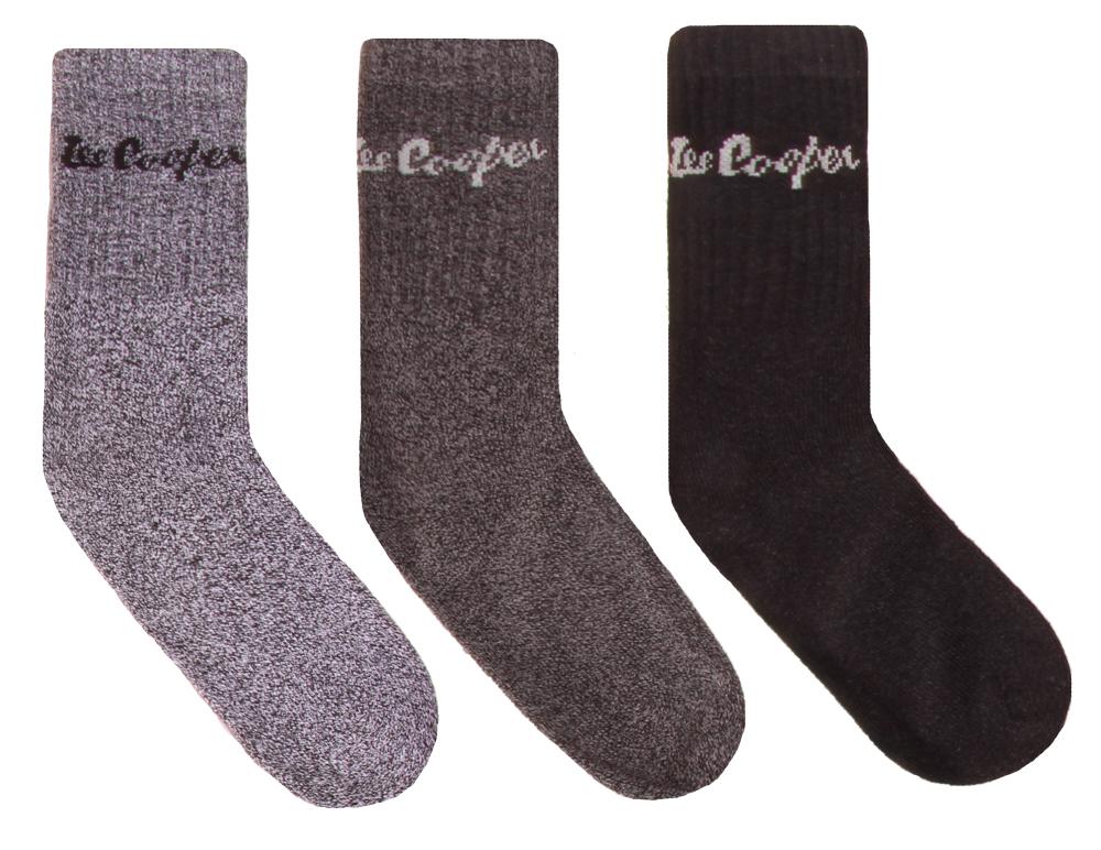 Ponožky pánske Lee Cooper 3ks