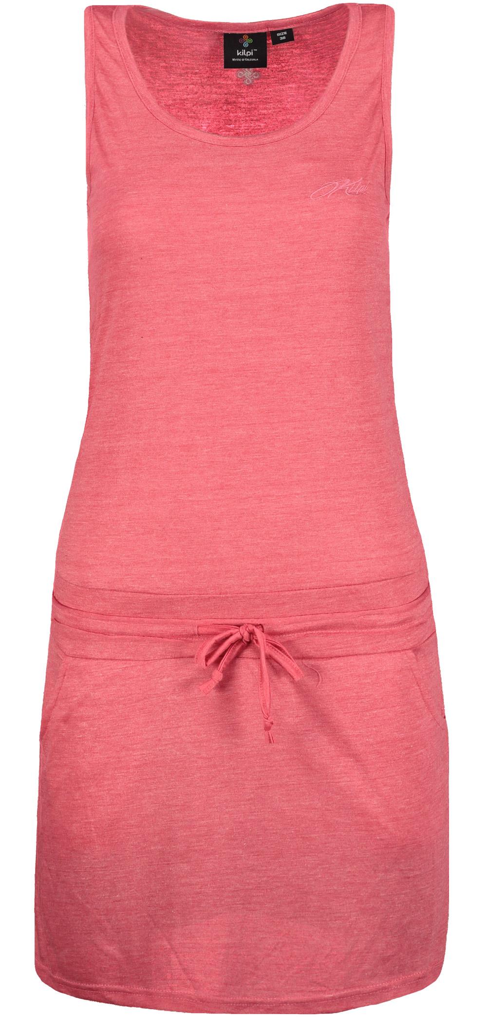 Šaty dámske KILPI DRESS MAZAMET-W