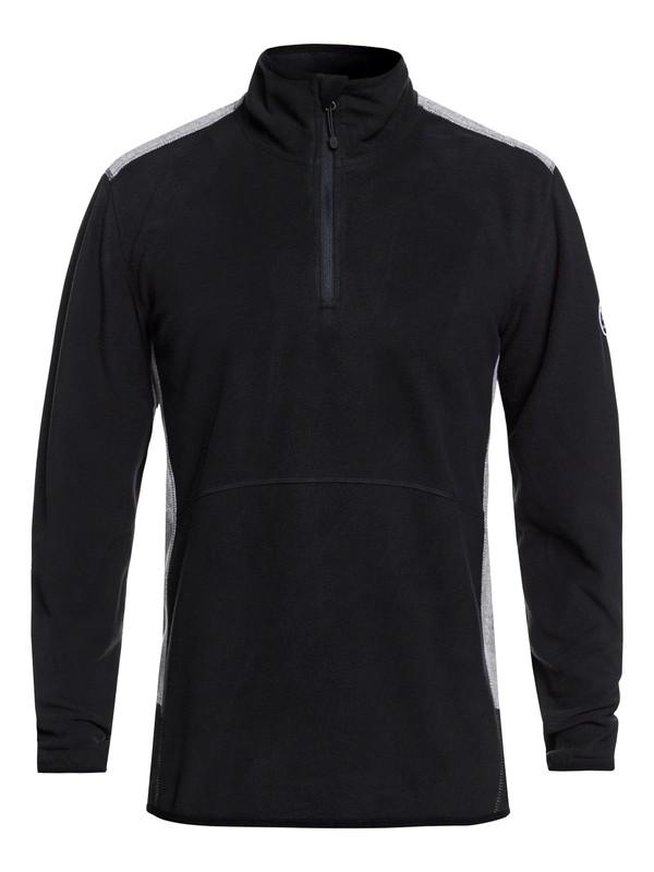 Men's sweatshirt QUIKSILVER AKER HZ FLEECE Full Zip