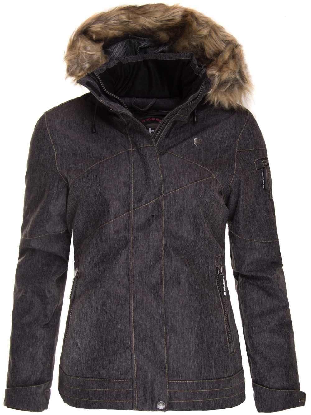 Zimní bunda dámská Rehall JESSIE-R-fur
