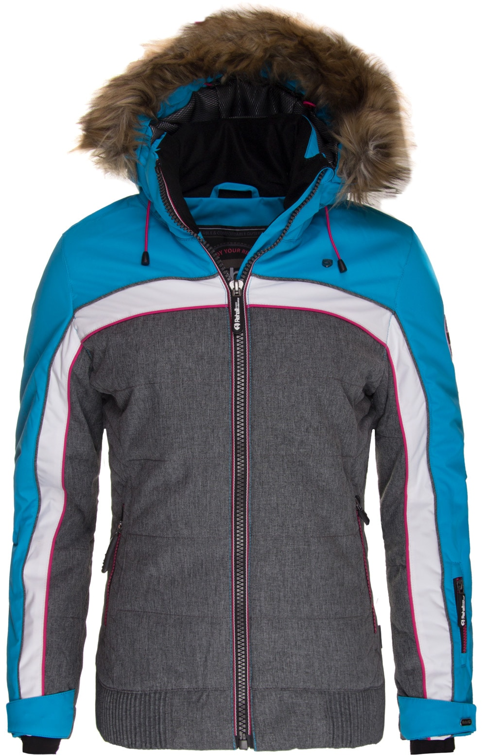 Ski jacket women's Rehall KATE-R-fur