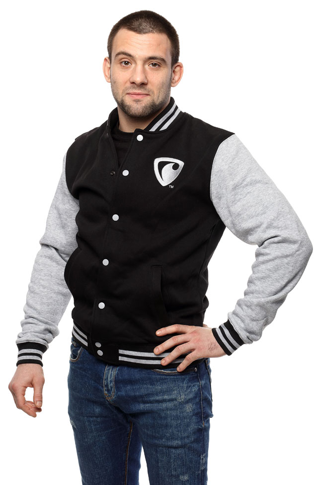 Men's baseball sweatshirt REPRESENT BONES