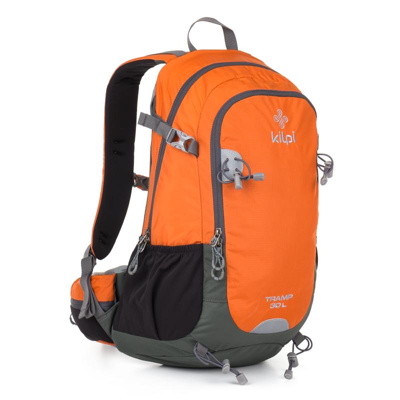 adeab46cad Batoh s 3 kapsami na zip oranzovy