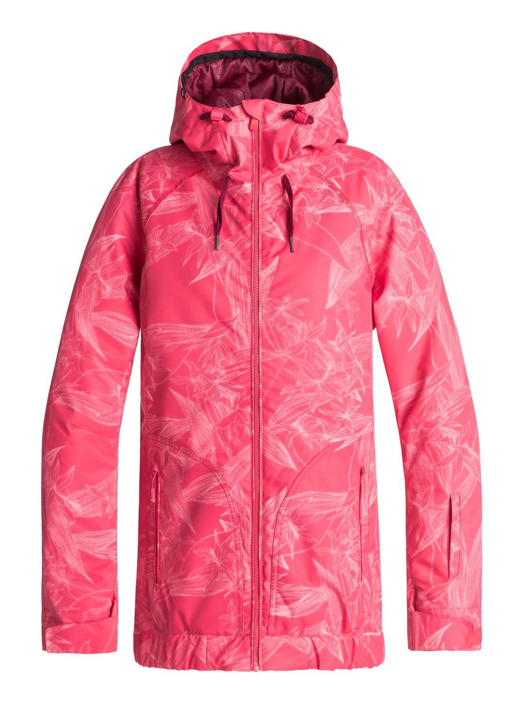 Women's winter jacket women ski ROXY VALLEY HOODIE JK Full Zip