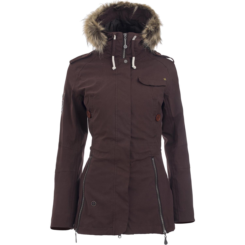 Dámská zimní bunda WOOX lnu
