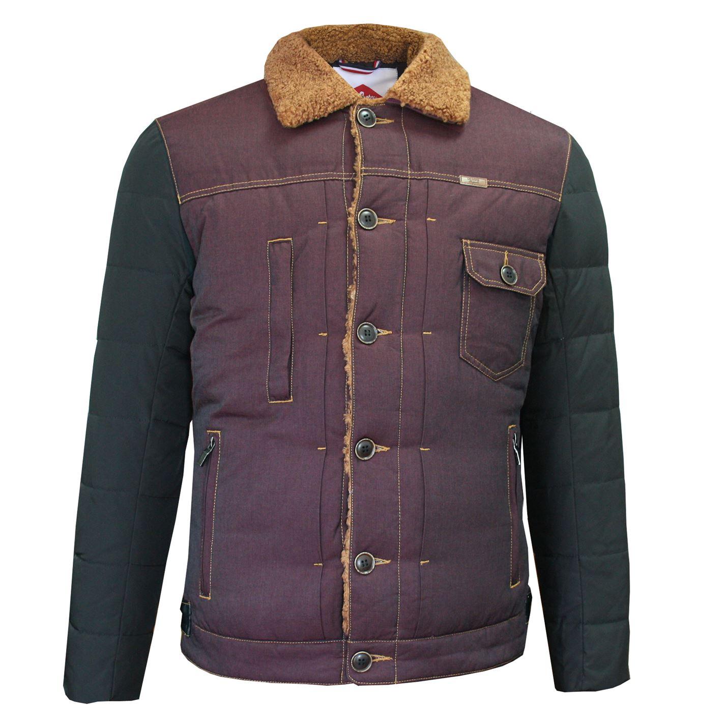 Lee Cooper Sherpa Contrast Jacket pánské