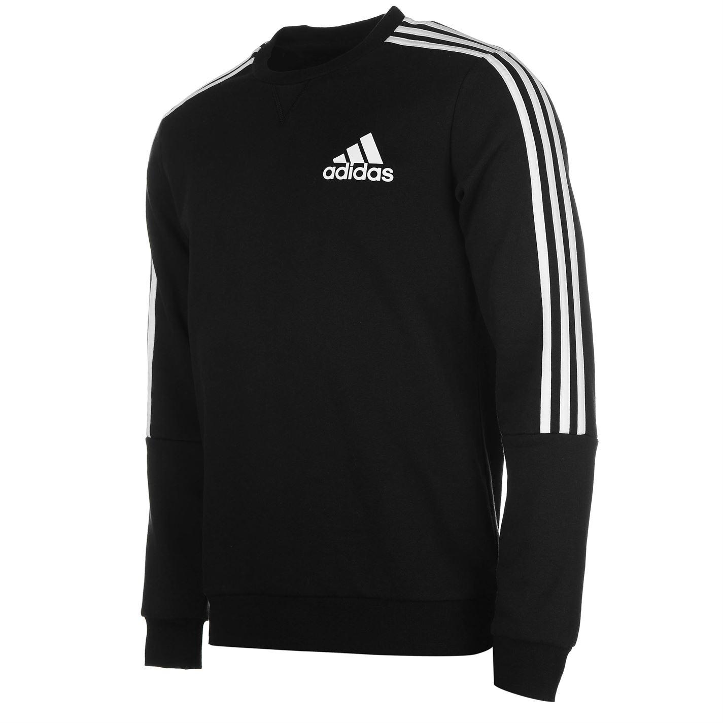 adidas 3 Stripes Crew Sweatshirt pánské